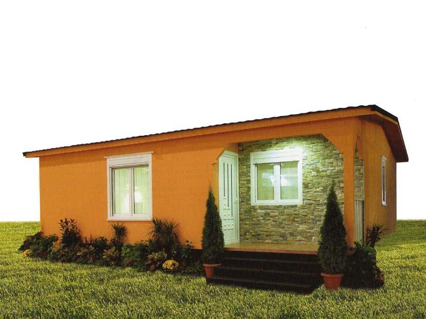 Casa prefabricada Hergohomes modelo Ronda 72m²