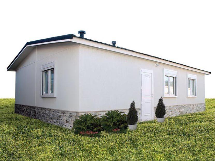 Casas prefabricadas Hergohomes, modelo Victoria 60/N 62,7m²