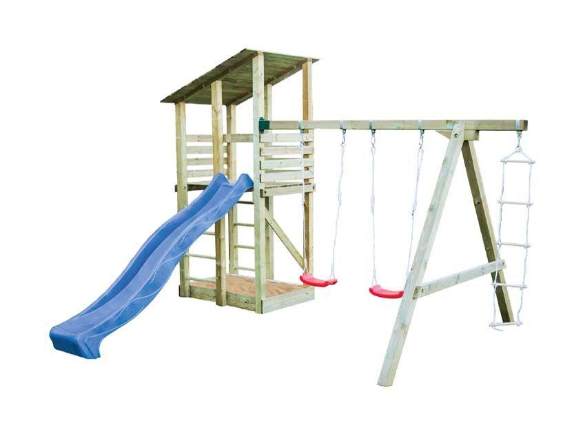 Parque Infantil de Madera Minna