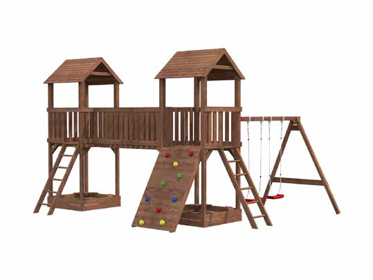 Parque Infantil de Madera Jesper 1