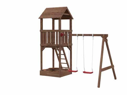 Parque de Madera Infantil Jesper 2