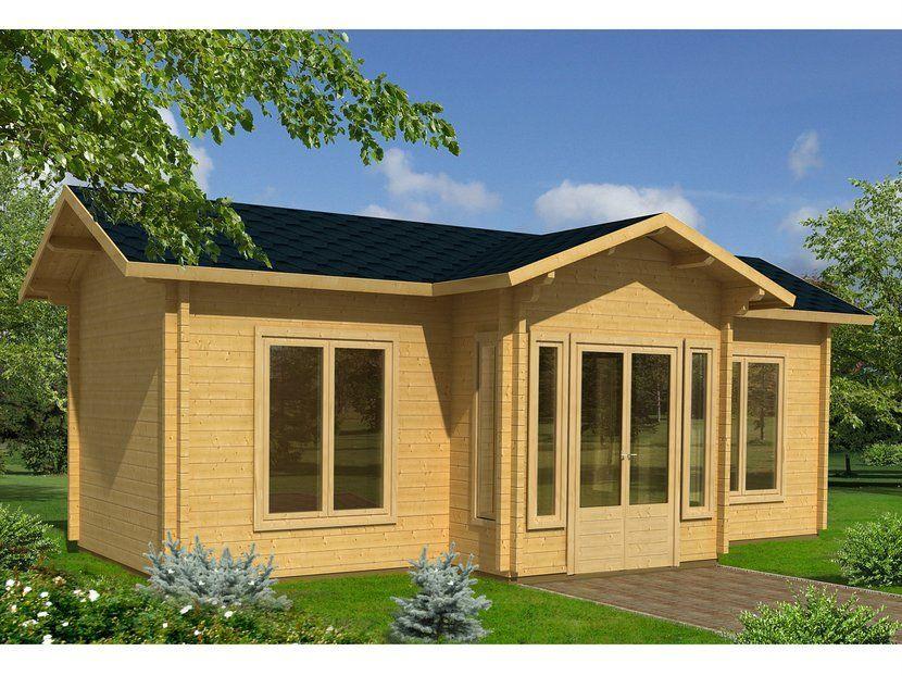 Siente la naturaleza en tu casa de madera maciza casas - Casas de madera maciza ...