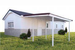casas prefabricadas Hergohomes, modelo Laura, Casas Carbonell
