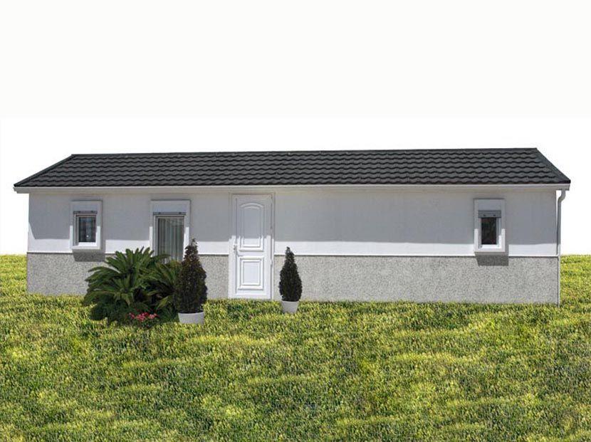 Casas Prefabricadas Económicas, Modelo Brasil-N 40,4m² – 10,10 x 4,00