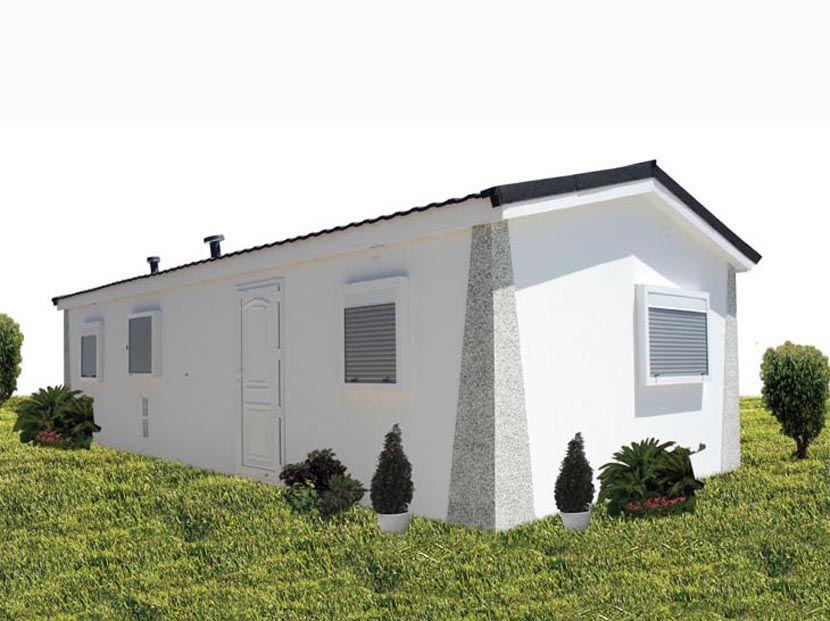 Casas Prefabricadas Carbonell, modelo Tudor-N 36m² – 9,00×4,00