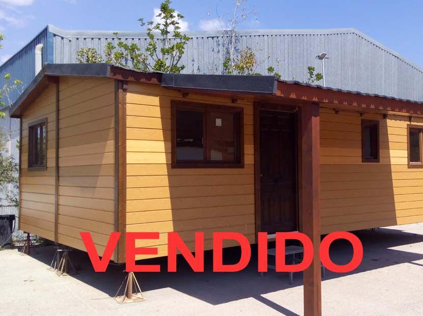 Casa movil prefabricada de segunda mano. 8.00×5.00 VENDIDA