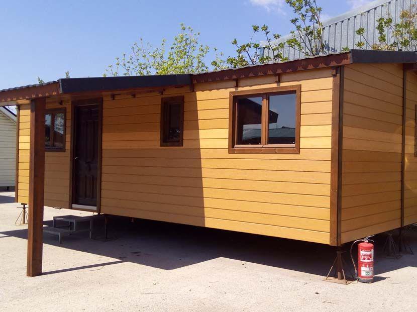 Casa m vil prefabricada usada de madera casas carbonell - Casas prefabricadas moviles ...