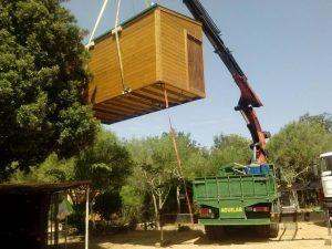 Descarga de casa de madera en Mallorca