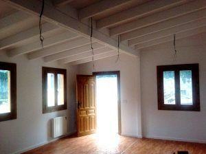 casa modular para comedor con interior en tablero de yeso