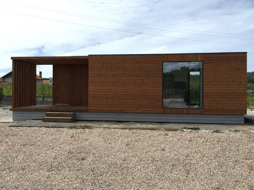 Casa modular cubica Helena 60m²