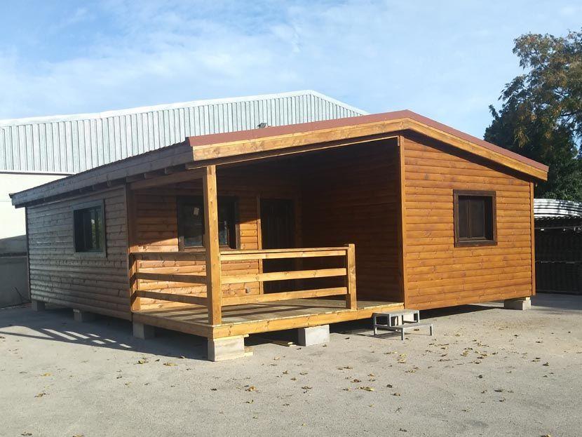Casa de madera modelo Carpato Betera 80m² –  10,00 x 8,00