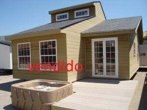 Oferta casa de madera prefabricada Baltico