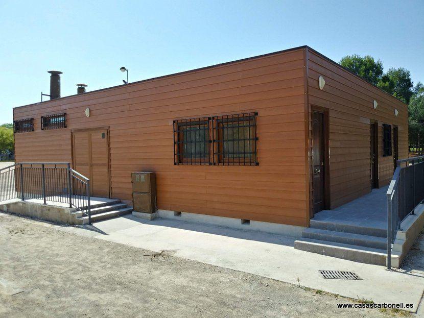 Construcción prefabricada modular rehabilitada