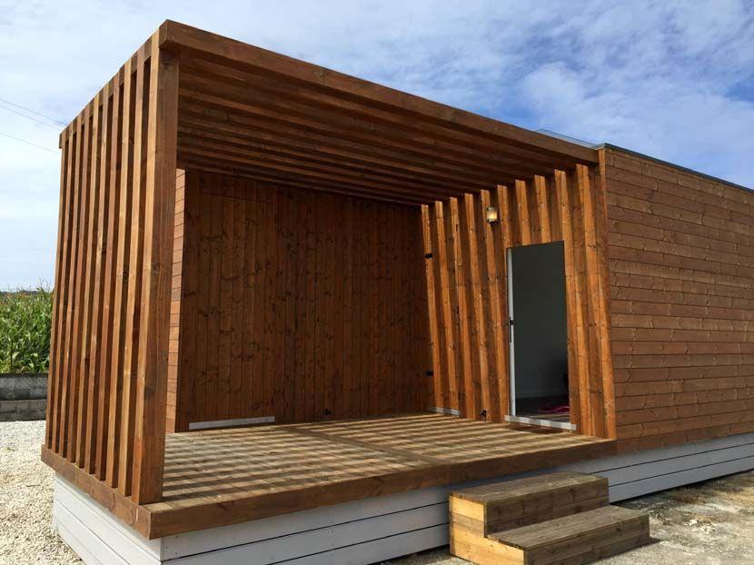 Casa moderna prefabricada, Helena 88m²