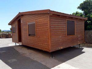 Oficina usada prefabricada de madera