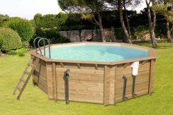 piscina de madera