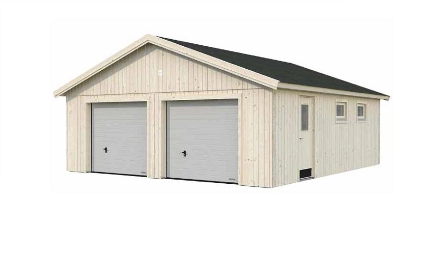 Garaje Aislado Nórdico Andre 44,7 m² 665×739